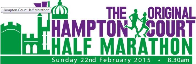 Hampton Court Half Marathons Feb & March2015