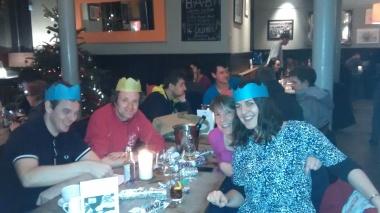 Christmas hat cheer