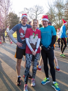 Christmas Day parkrun 2014