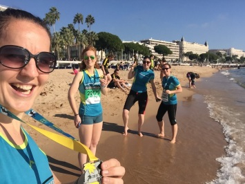 French Riviera Relay Marathon, Cannes November 2015
