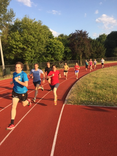 Track, Thurs 2 July 15