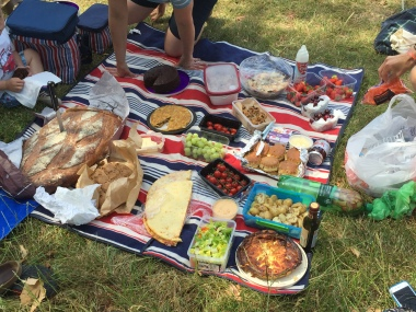 Clapham Runners 10th birthday picnic, 4th July 15