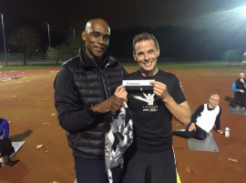 Damian won the VMLM 2016 club place - congrats!