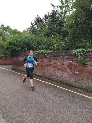 Sprint finish for the final leg of day 1
