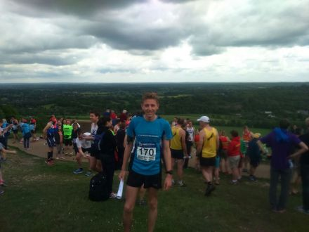James at the Box Hill start