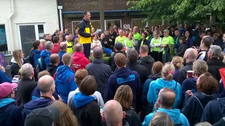Prize giving at Stragglers RC