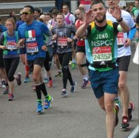 Jonathan M-S, 4h05 in the London Marathon