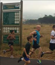 Steve, parkrun at Rondebosch, South Africa, March 2016