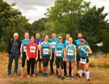 Thames River Relay two teams, Sept 2016