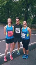 Before the Battersea Park Sri Chimnot 10k race, Sept 2016
