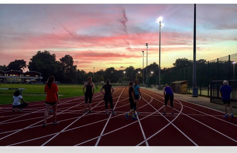 Clapham Runners at the Track